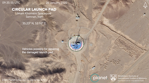 Imagery Suggests Iran Is Preparing To Try To Launch A Satellite