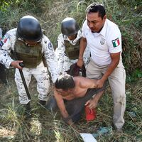 Migrants In Mexico Face Crackdown, But Officials Say They're Being 'Rescued'