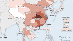 MAP: Confirmed Cases Of Wuhan Coronavirus