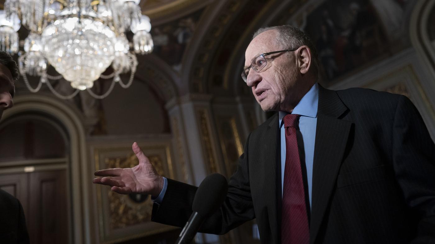 Trump Legal Team Says Quid Pro Quo In Pursuit Of Reelection Isn't Impeachable