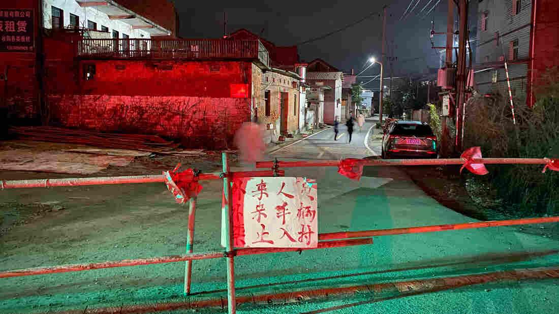 The Thinking Behind China's Quarantines ... And (Illegal) Village Blockades
