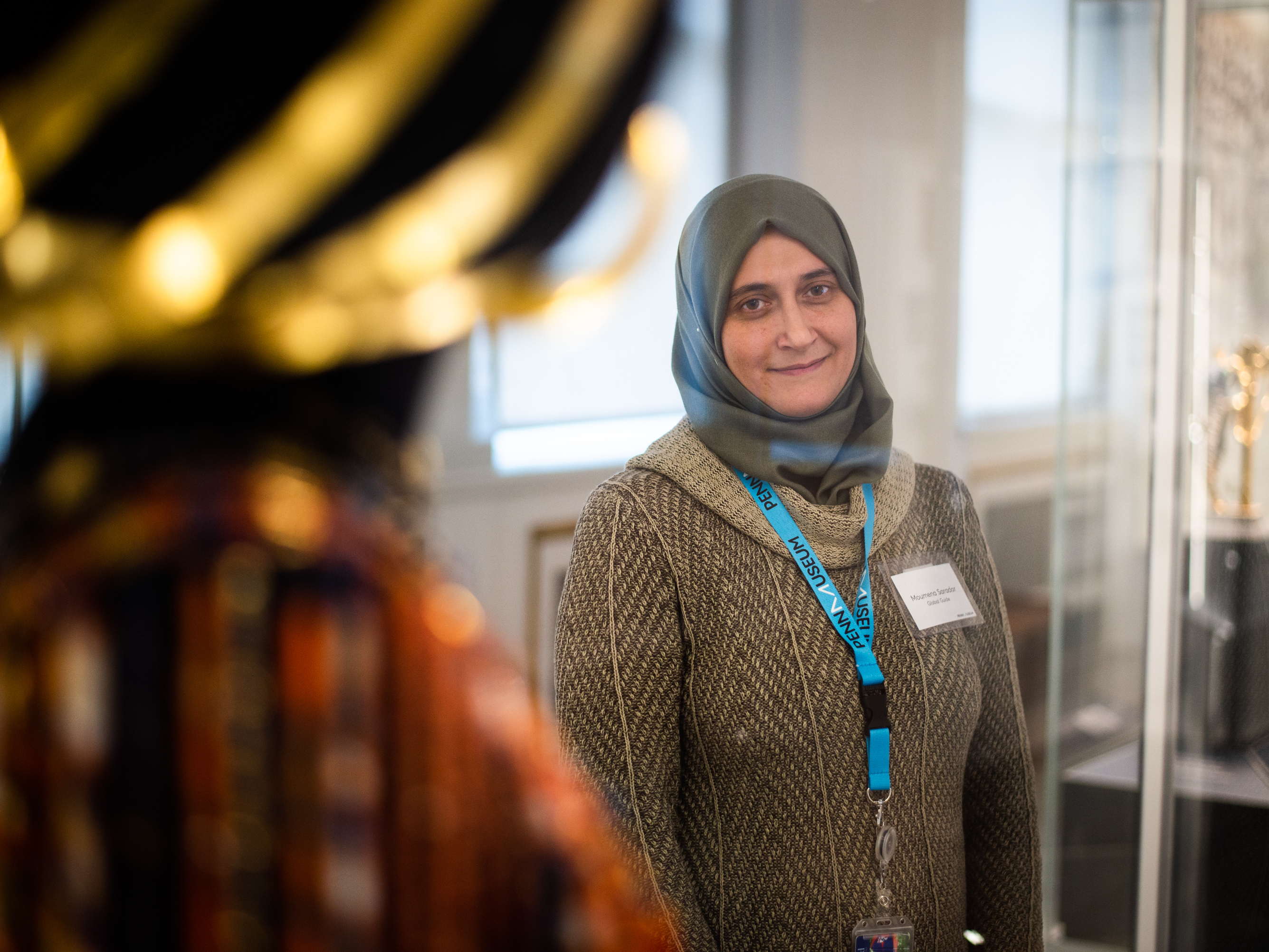 Refugee Docents Help Bring A Museum's Global Collection To Life