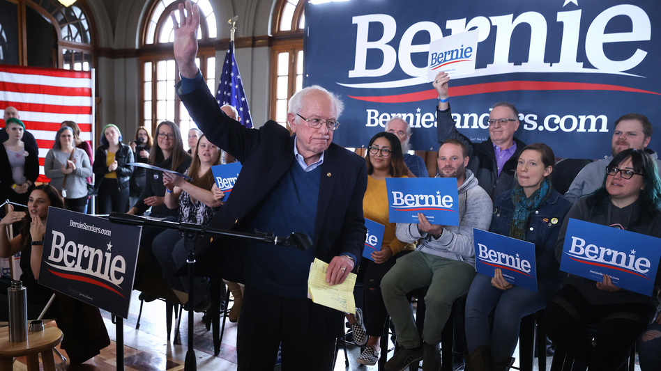 A year ago, many progressives told NPR they weren't so sure they wanted to see Bernie Sanders run for president again. But now, it appears those voters are coming back. (Chip Somodevilla/Getty Images)