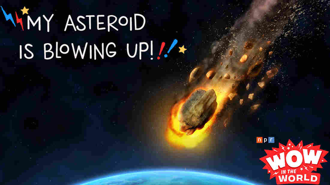 Imagine a giant asteroid is out in space and headed on a collision course with planet Earth. Your mission, is to annihilate this giant mass of space rock before it can even get close. What do you do? How do you do it? Join Mindy and Guy Raz as they travel through time and space to the asteroid belt for a little experiment of their own!