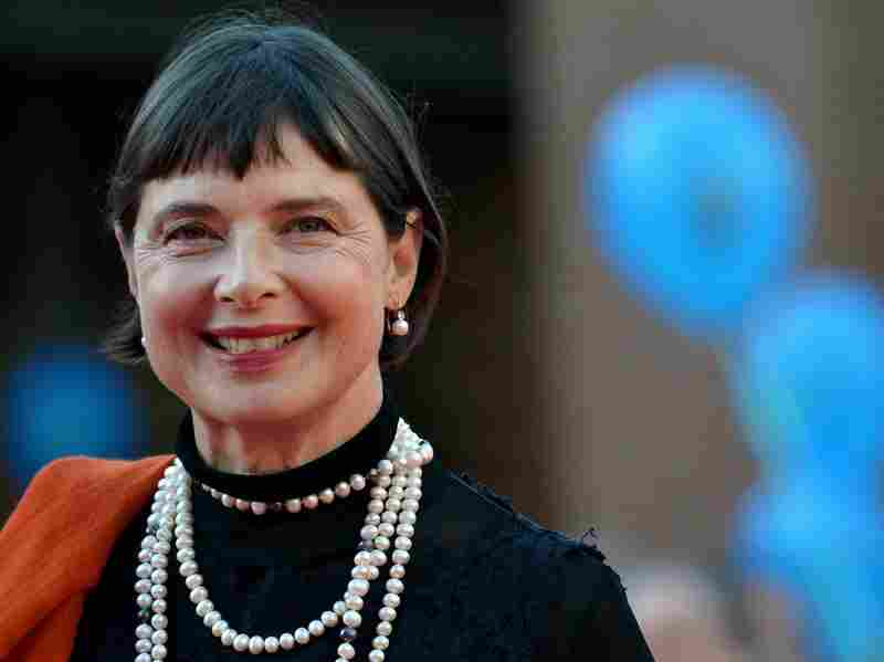 Isabella Rossellini arrives for a Tribute to Ingrid Bergman during the Rome Film Festival on Oct. 16, 2015, in Rome.
