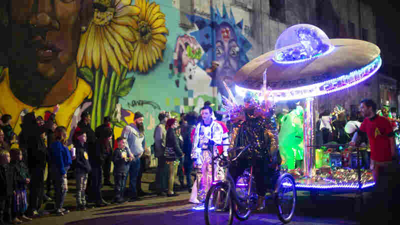 All Nerddoms Welcome: The Intergalactic Krewe Of Chewbacchus Parades In New Orleans