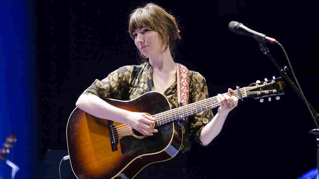 Anna Tivel performs at Mountain Stage