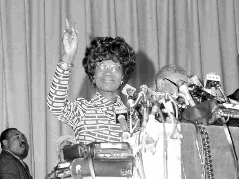 Rep. Shirley Chisholm announced that she would seek the Democratic presidential nomination on Jan. 25, 1972, in New York.