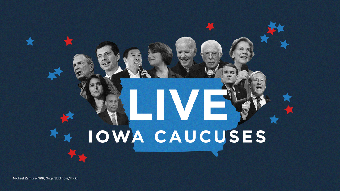 Follow NPR's live coverage of the Iowa caucuses.