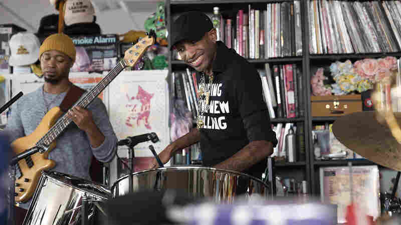 Jonathan Scales Fourchestra: Tiny Desk Concert