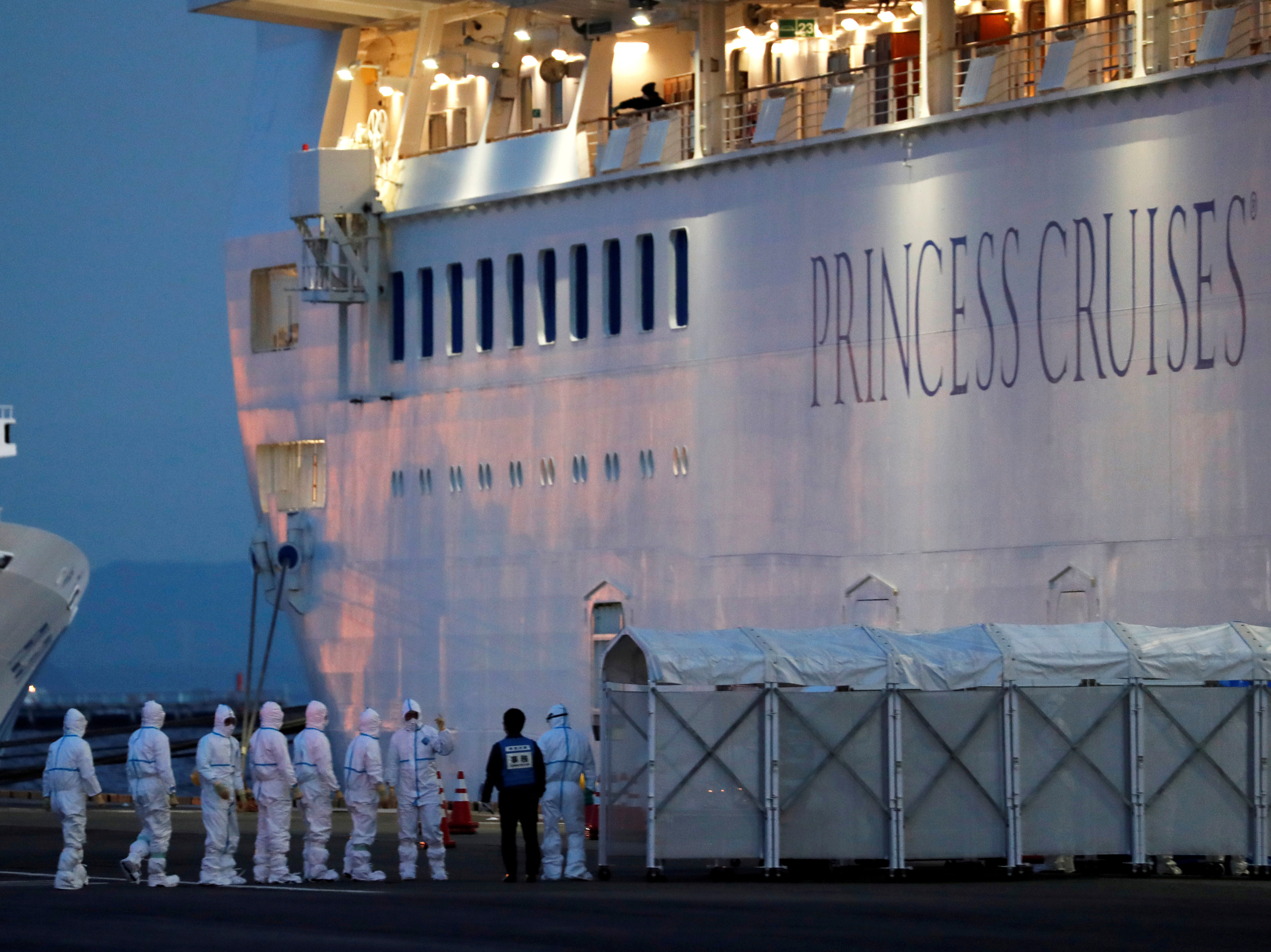 On Cruise Ship Quarantined In Japan, New Cases Could Reset The Isolation Clock