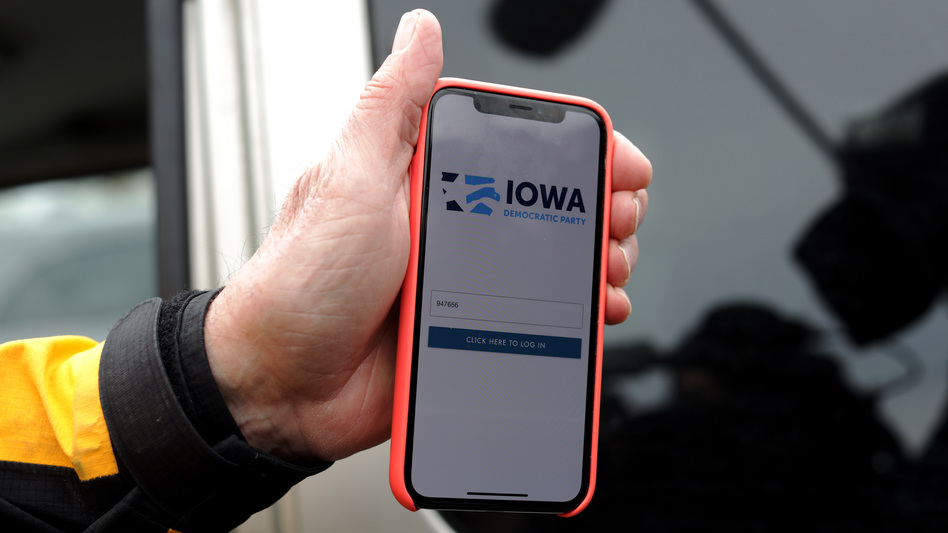 The Iowa Democrats' app contributed to the failure to transmit caucus results. (Alex Wong/Getty Images)