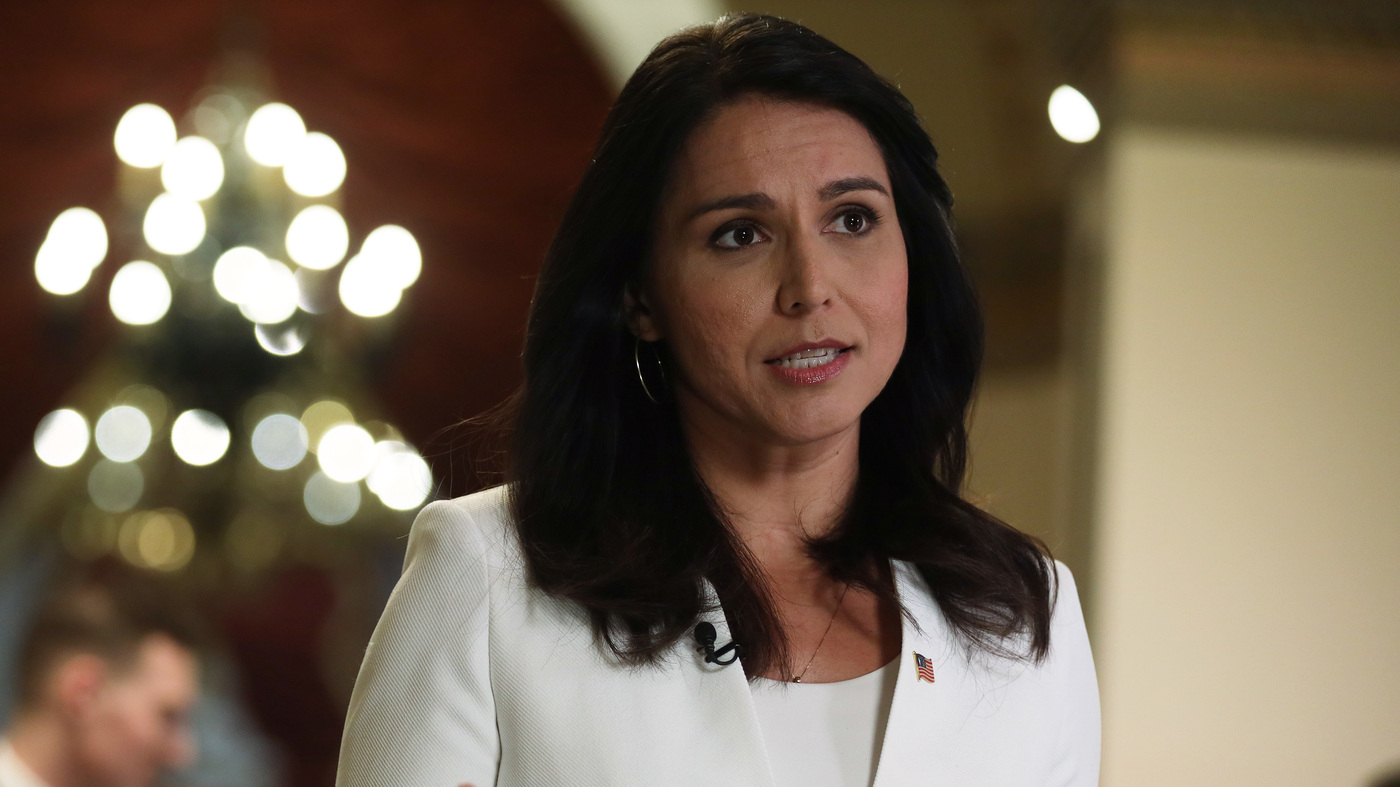 Hawaii Rep. Gabbard Suspends Her Presidential Campaign And Backs Biden