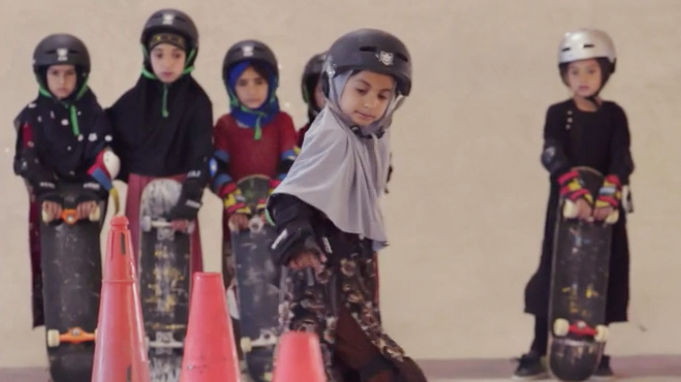 An Oscar Goes To A Documentary About Skateboarding Girls In Afghanistan