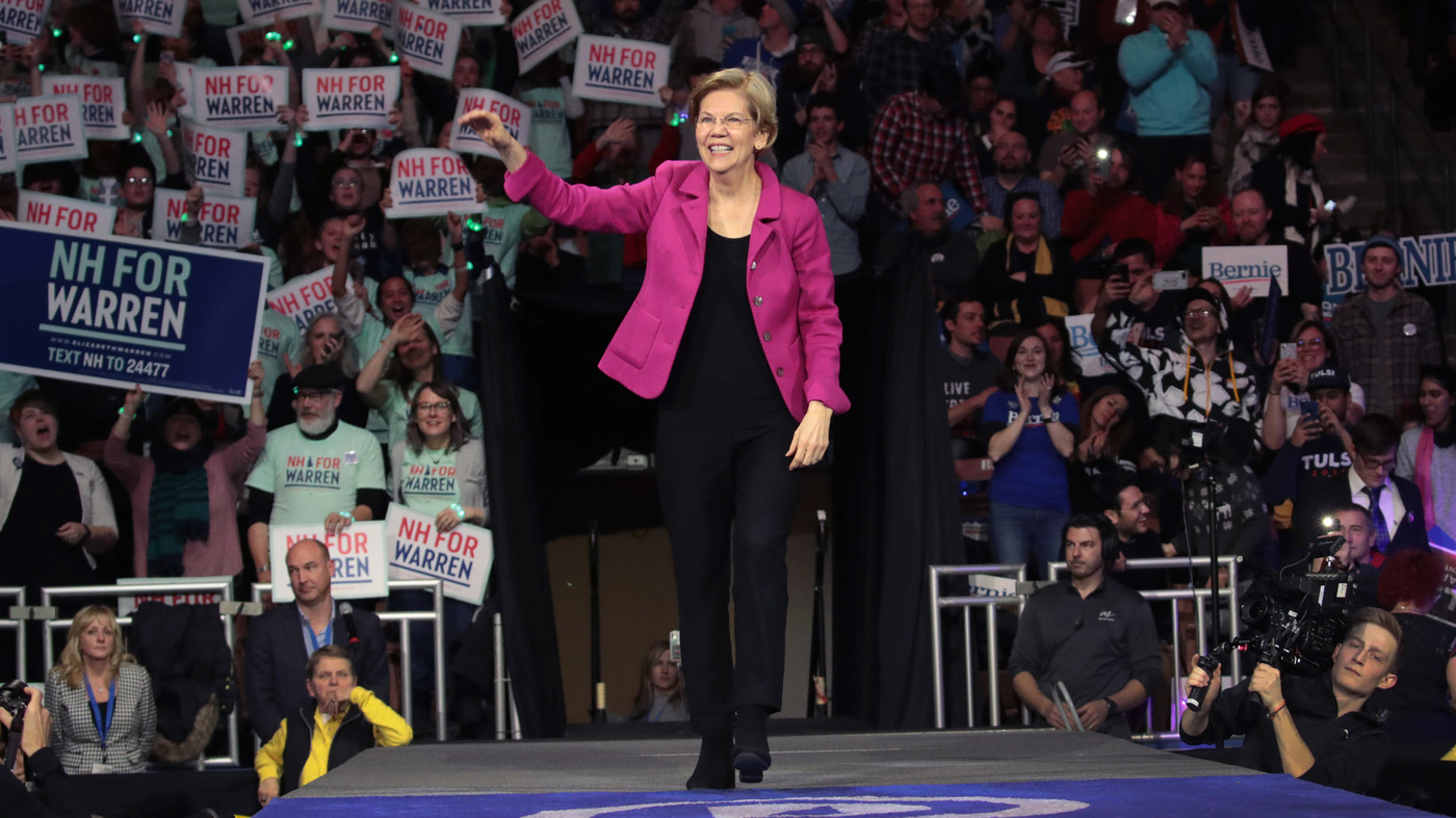 Sen. Elizabeth Warren Drops Out Of The 2020 Presidential Race