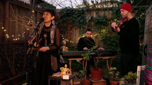 Anaís Azul was the first artist to enter the 2020 Tiny Desk Contest.