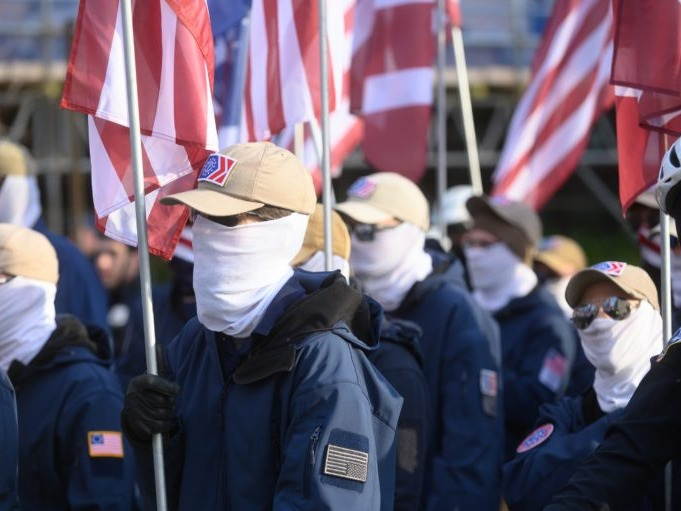 D.C. Makes It A Crime To Wear Masks. So Why Was A Group Of White Nationalists Able To?