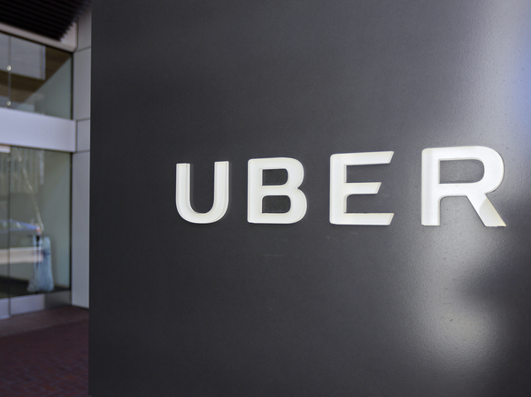 Uber headquarters in San Francisco on March 1, 2017.