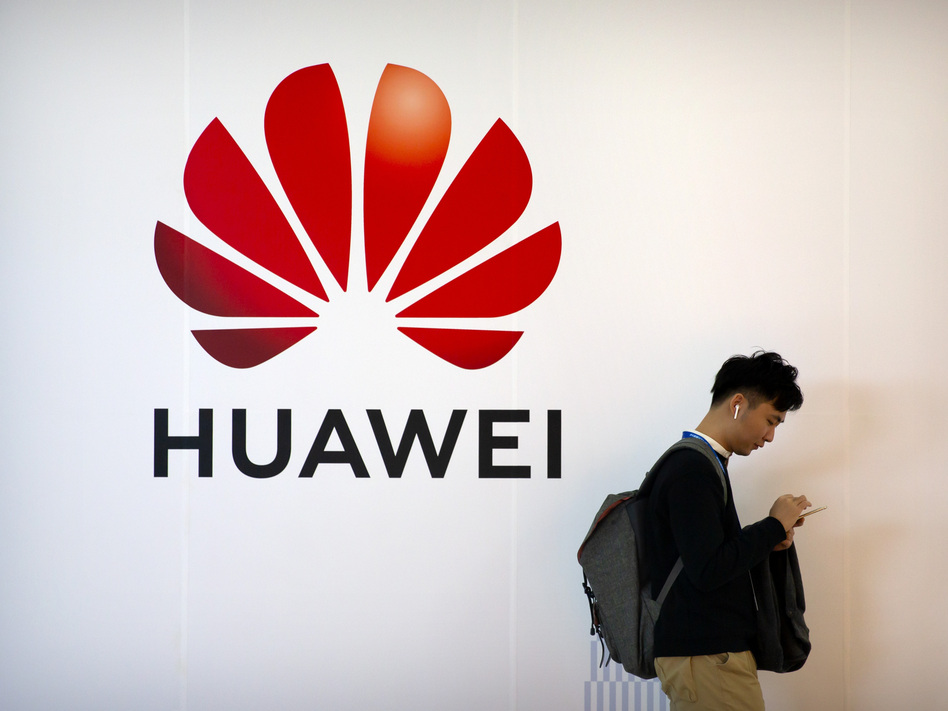 The Chinese technology firm Huawei is facing a raft of U.S. federal charges, including racketeering conspiracy. (Mark Schiefelbein/AP)