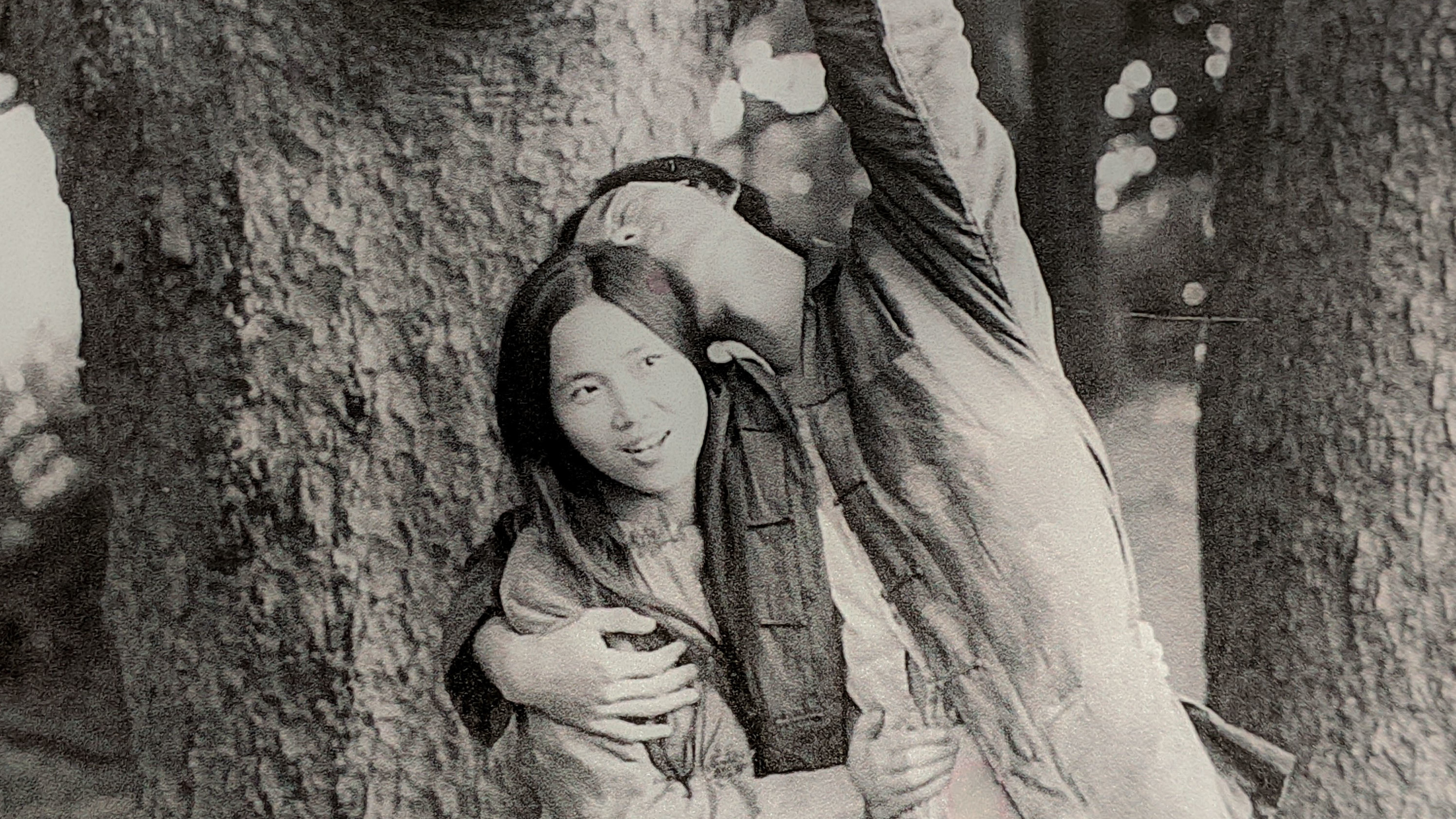E.F. Wen (left) and Eddie Chang in 1973.