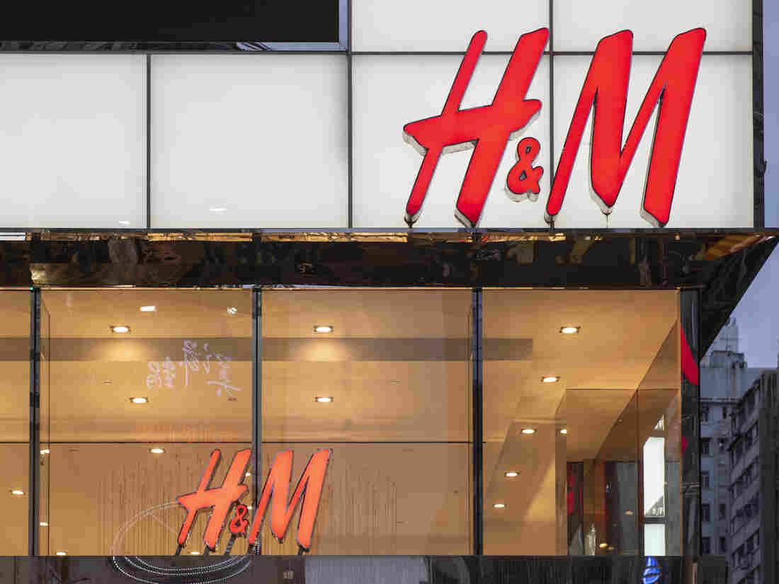 HONG KONG, CHINA - 2020/01/31: Swedish multinational clothing design retail company Hennes & Mauritz, H&M, store seen in Hong Kong.