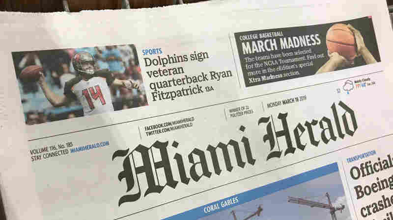 'Miami Herald,' 'Kansas City Star' Publisher McClatchy Files For Bankruptcy