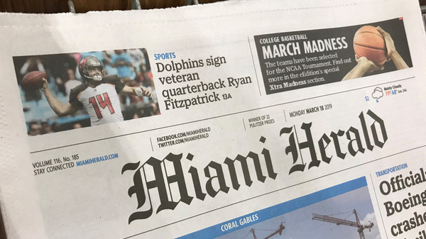 McClatchy acquired Knight Ridder, the owner of the Miami Herald and dozens of other newspapers, in 2006 but sold off several of those papers.