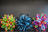 Nashville teacher Riki Rattner uses expandable balls to help students visualize their breathing.