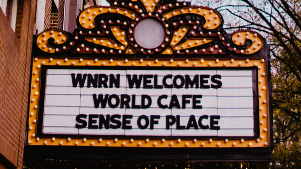 The Paramount Theater in Charlottesville, Va., hosted live performances for World Cafe