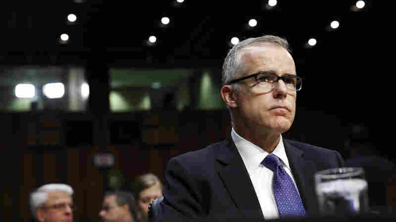 Former FBI Official Andrew McCabe Won't Face Charges