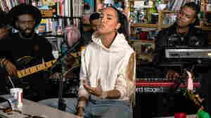 Snoh Aalegra: Tiny Desk Concert