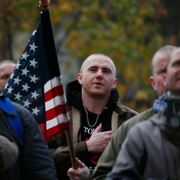 'Not A Paramilitary.' Inside A Washington Militia's Efforts To Go Mainstream