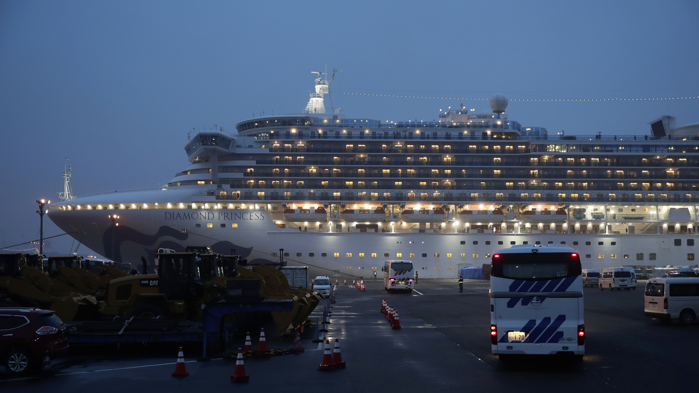 44 Americans On The Diamond Princess Cruise Ship Diagnosed With Coronavirus  : NPR