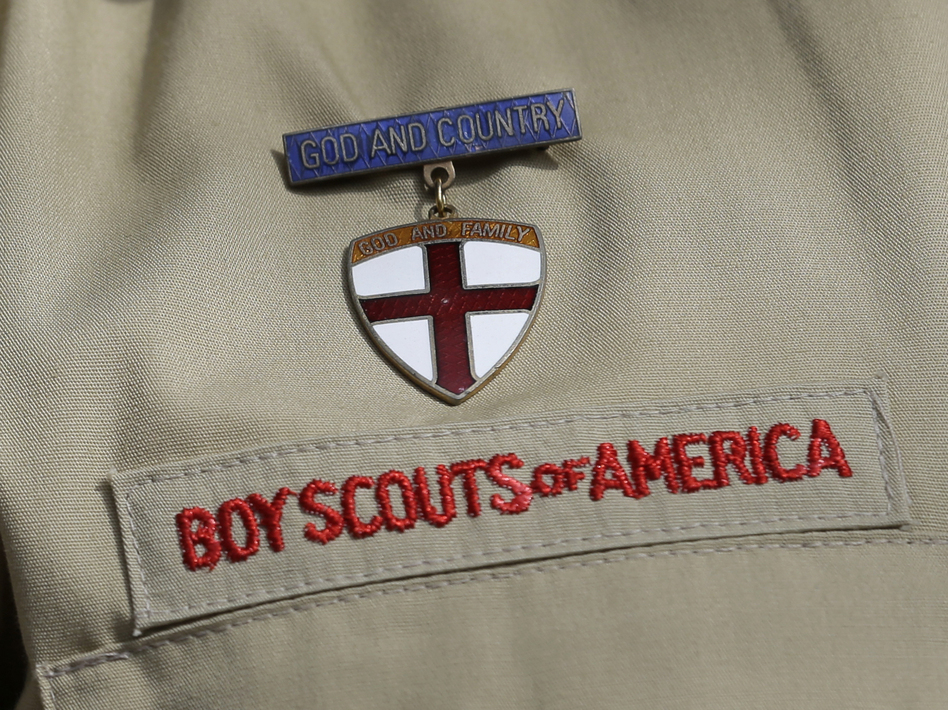 Faced with hundreds of sexual abuse lawsuits, the Boy Scouts of America filed for bankruptcy. (Tony Gutierrez/AP)