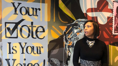 A New African American Art Exhibit Encourages Visitors To Vote