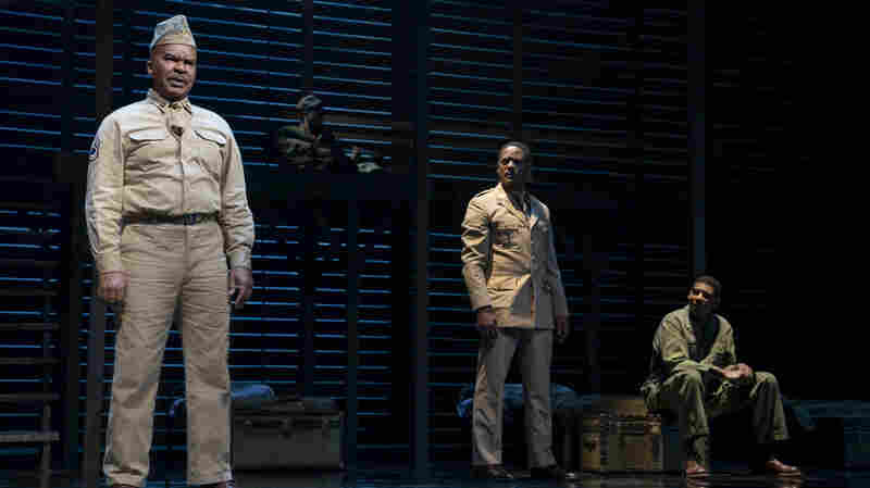 After 40 Years, 'A Soldier's Play' Finally Marches Onto Broadway