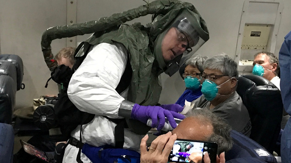 Coronavirus Update: 1st Group Of Americans Emerges From Quarantine At Travis AFB