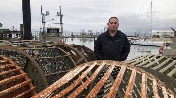 Kenichi Wiegardt is a fifth-generation oyster grower. He