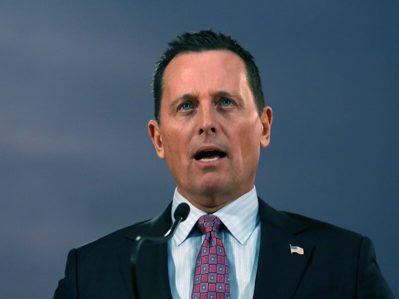 Richard Grenell Named As Acting Director Of National Intelligence ...