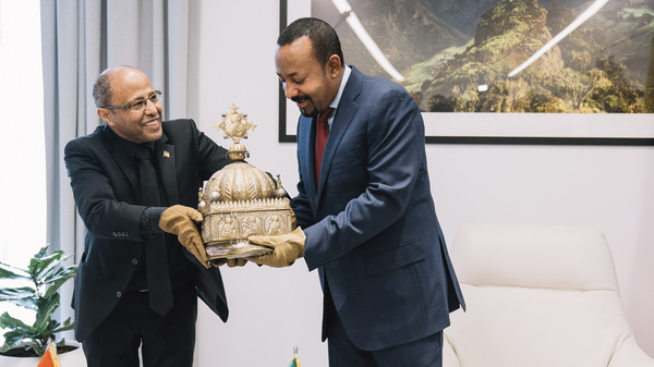 Precious Ethiopian Crown Returned —After 21 Years Stashed In A Dutch Apartment