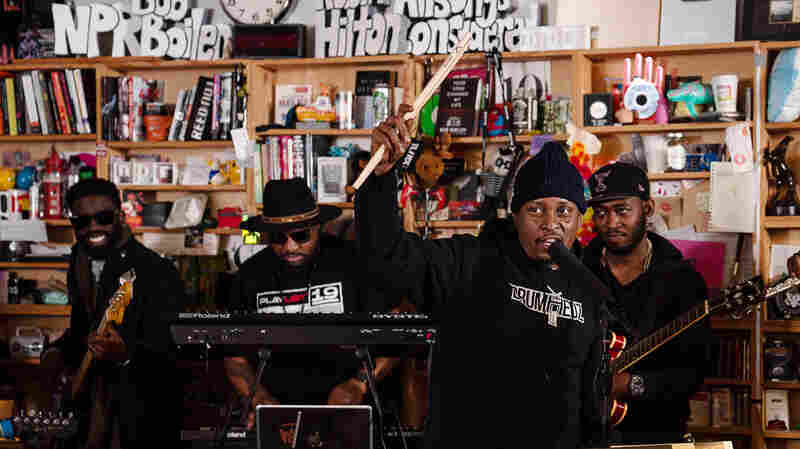 Chris Dave And The Drumhedz: Tiny Desk Concert