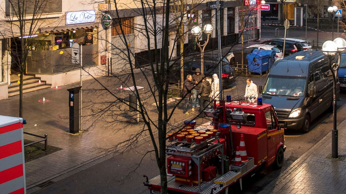 Shootings At Hookah Bars In Germany Kill 9; Police Suspect Far-Right Extremism