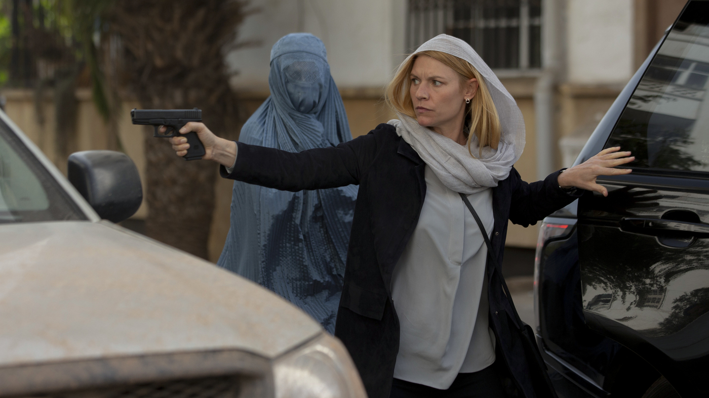 CIA counter-terrorism from the show Homeland