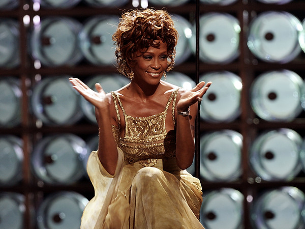 Whitney Houston photographed at the World Music Awards in 2004. Starting Feb. 25, a concert show starring a hologram of Houston, who died in 2012, will tour Europe.