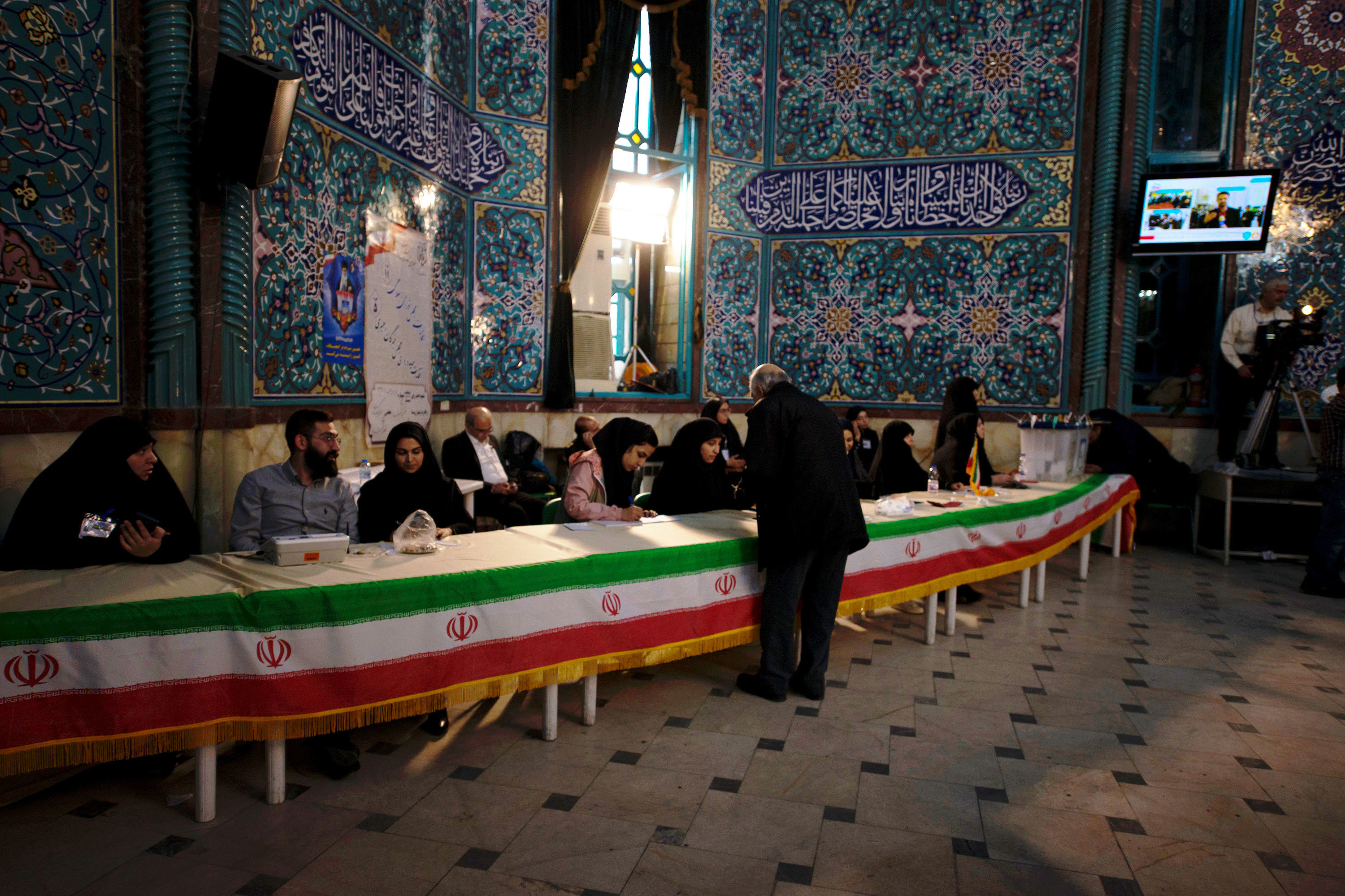 Iranians Vote In Parliamentary Election, After 1 Week Of Campaigning