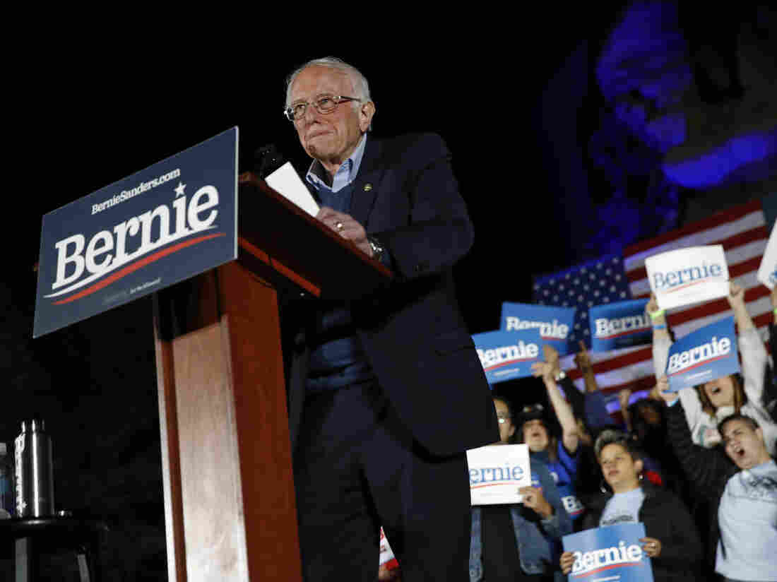 Sanders clear Democratic frontrunner after decisive Nevada win