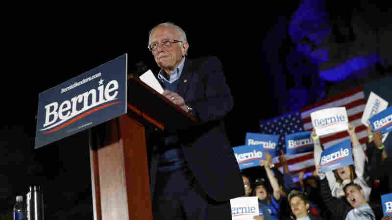 Sanders Projected To Win Nevada Caucuses, Solidifying Front-Runner Status