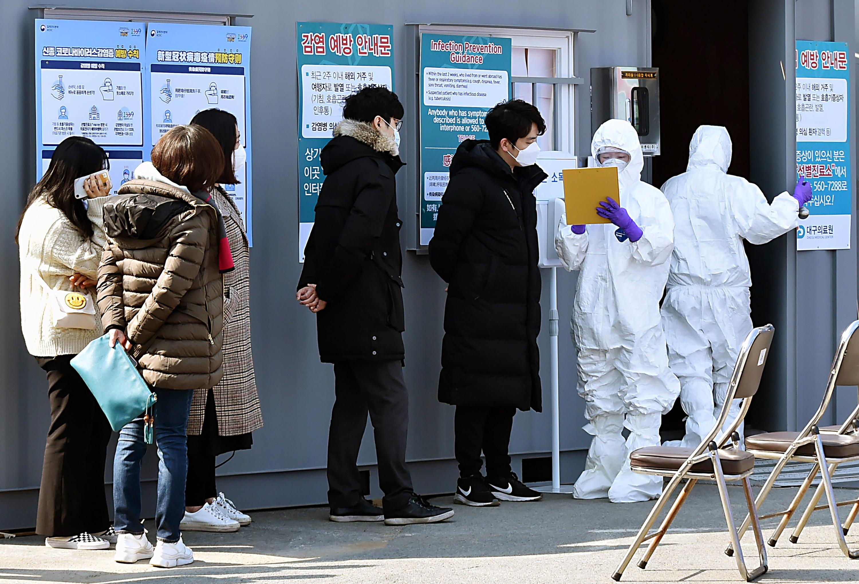 Secretive Church Sect At The Center Of South Korea's Coronavirus Outbreak