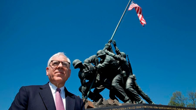 National Park Service Completes Renovation Of Iwo Jima Statue