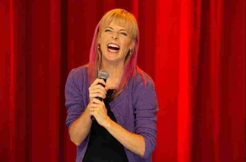 Maria Bamford in her 2020 stand up special Weakness is the Brand.